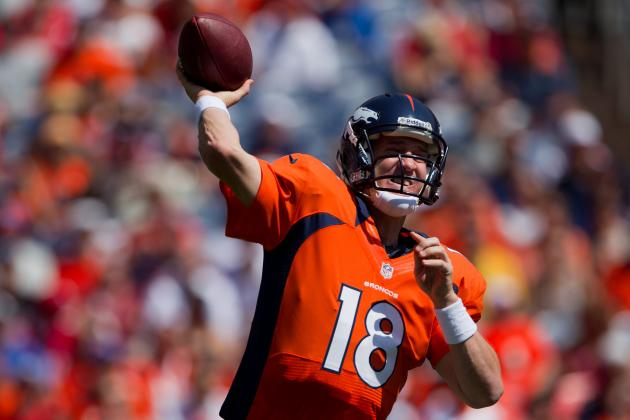 NFL Preseason 2012: Grading Peyton Manning's Performance for the Denver Broncos