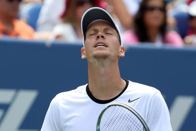 US Open Tennis 2012: 5 Favorites on Upset Alert