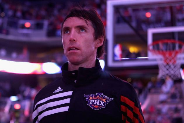 Ranking Steve Nash Among the Top 10 Players in Phoenix Suns History