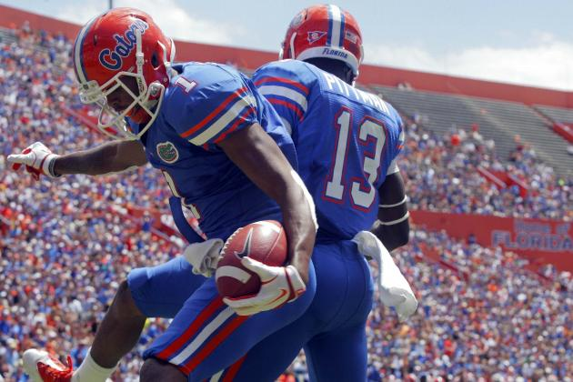Florida Football: Which Wide Receivers Will Step Up for UF?