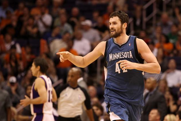 The Frontcourt Show: Kevin Love and the Best 5 Power Forwards in the NBA
