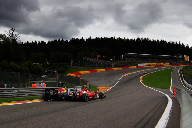 Formula 1: Belgian Grand Prix Preview