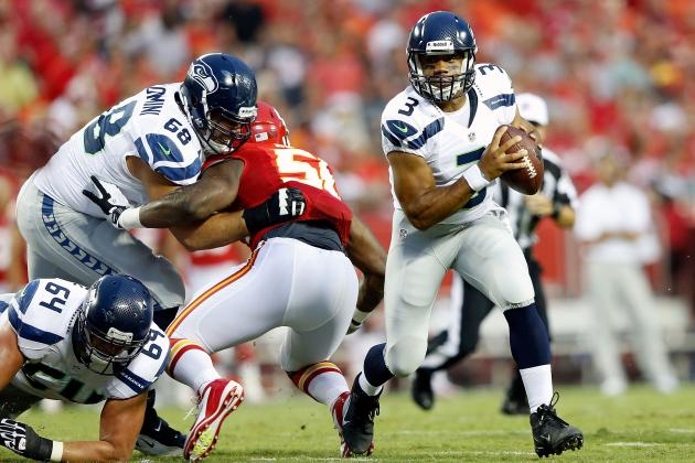 Russell Wilson and 5 Late Bloomers Shooting Up Fantasy Football Draft Boards
