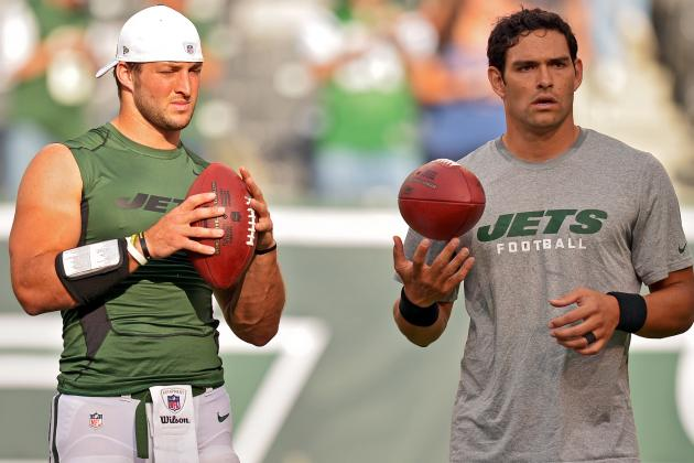 Tim Tebow vs. Mark Sanchez: Latest Buzz and Opinion on Jets' Dynamic Duo