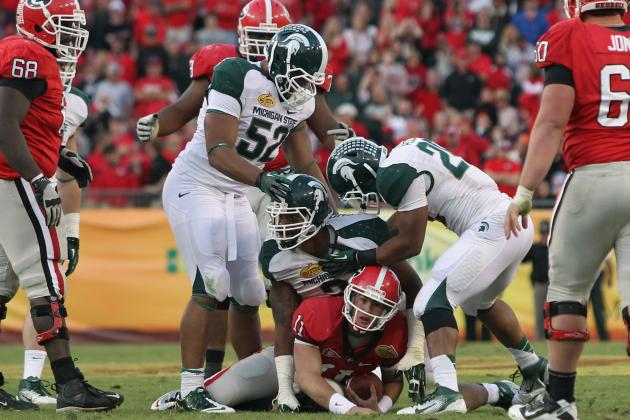 Big Ten Football: Power Ranking Best B1G Defensive Lines in 2012