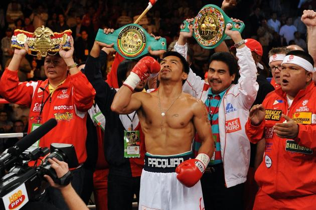 4 Things Keeping Manny Pacquiao from Being Top Pound-for-Pound Fighter Ever