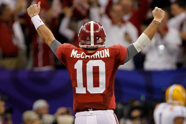 Alabama Football: Predicting Stats for Crimson Tide's Showdown Against Michigan