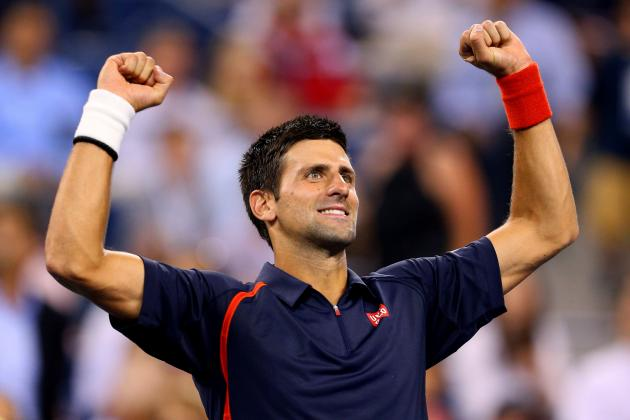 Novak Djokovic: Odds on Potential Remaining Matches