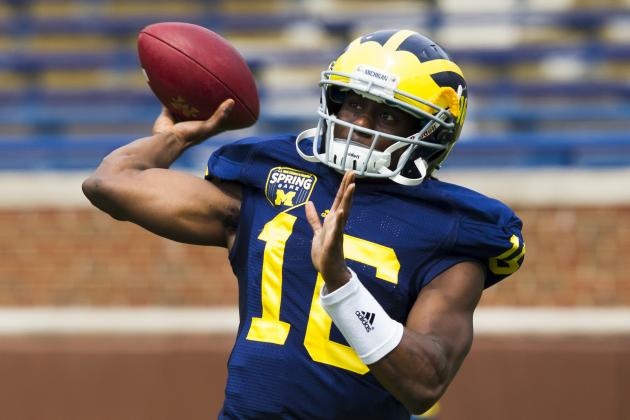 Michigan Football: 5 Important Storylines to Watch Develop Throughout 2012