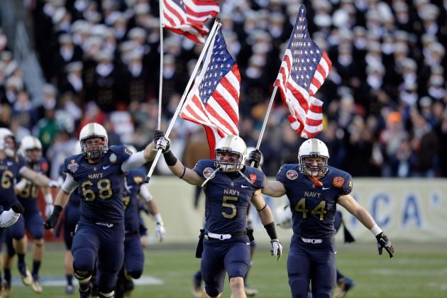 4 Reasons Why the Navy Midshipmen Could Upset Notre Dame Fighting Irish
