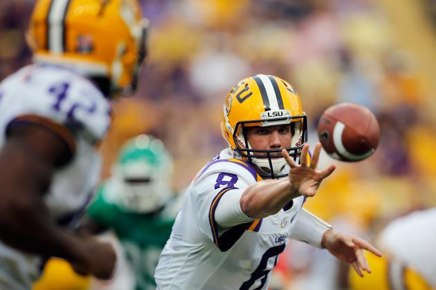 LSU Football: Grading All 22 Starters from the Tigers Week 1 Game