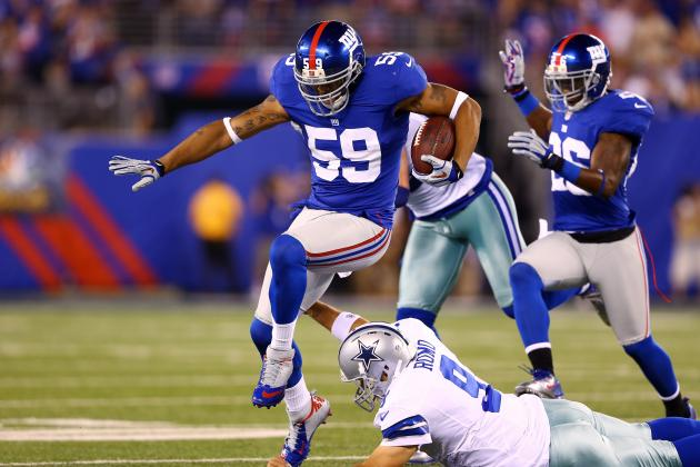 Cowboys vs Giants: 6 Things We Learned from New York's 24-17 Loss