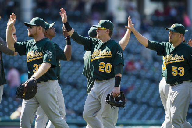 Proof That the A's Are More Than Just a Team That Wins Games in Extra Innings