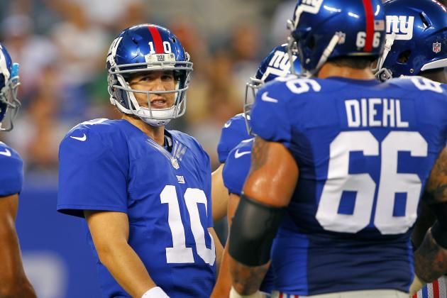 New York Giants: 5 Most Interesting Regular Season Games of the 2012 Season