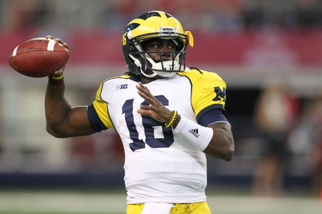 Denard Robinson: Grading the Michigan QB Against Alabama's Deadly Defense