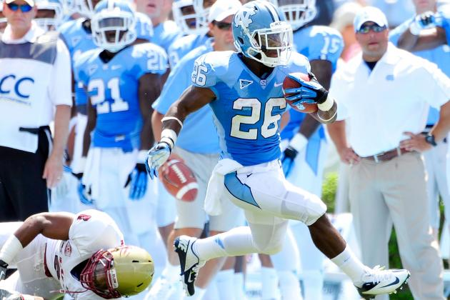 North Carolina vs. Elon Football: Positives and Negatives of Tar Heels' Win
