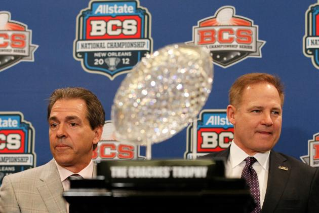 Why Alabama vs. LSU in First BCS Title Game Rematch Already Has Legs