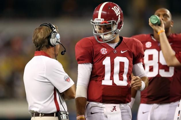 Alabama Football: How the Tide Compared to Other SEC West Powers in Week 1