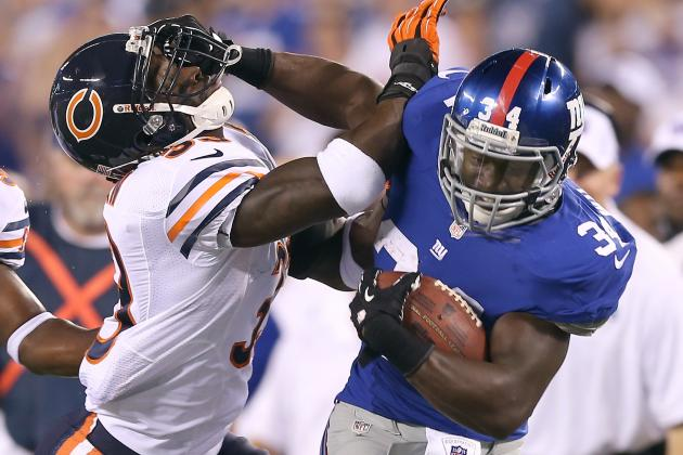 David Wilson: Why the Rookie Running Back's List of Goals Is Way out of Reach
