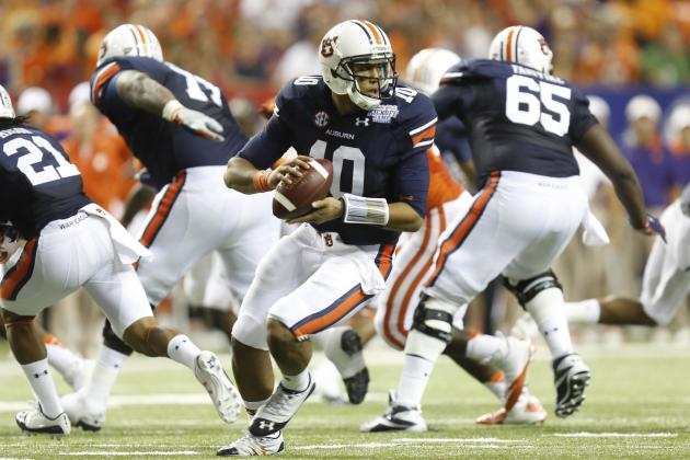 Auburn Football: Grading All 22 Starters from the Tigers Week 1 Game