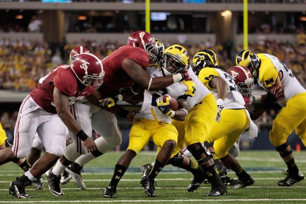Alabama Football: 5 Plays by the Tide That Spelled Doom for Michigan