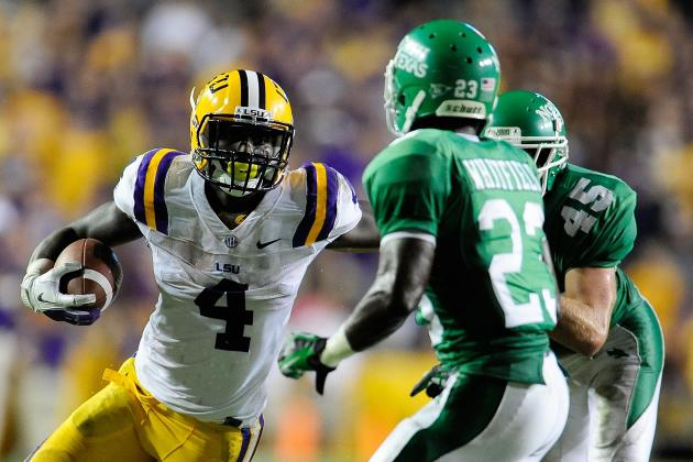 LSU Football: What We Learned from the Week 1 Game vs. North Texas