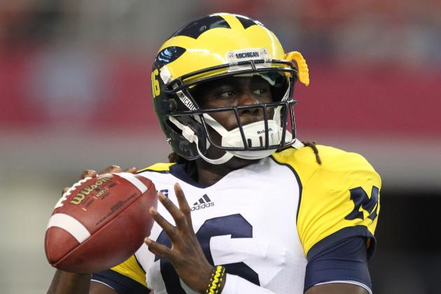Denard Robinson, Notre Dame and College Football's Week 2 Storylines