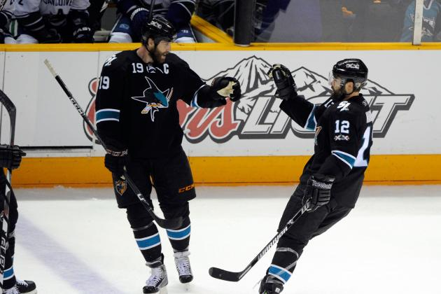 San Jose Sharks: Are They Better off Trading Joe Thornton or Patrick Marleau?