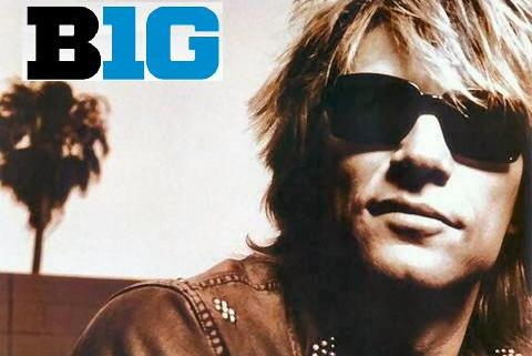 Big Ten Football Power Rankings Featuring Bon Jovi