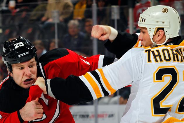 Boston Bruins: The 11 Biggest and Baddest Players in Team History
