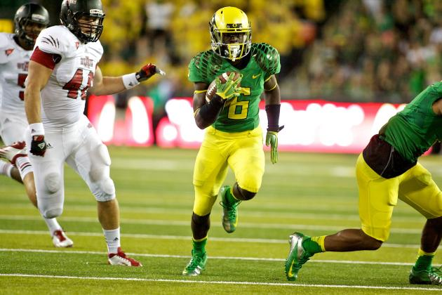 Oregon Ducks: How Good Can RB De'Anthony Thomas Be in 2012 and Beyond?