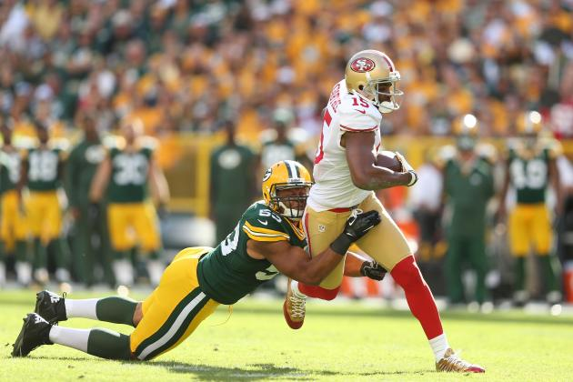 49ers vs. Packers: 10 Things We Learned from Green Bay's 30-22 Loss