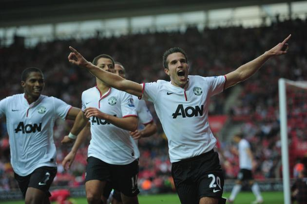 Robin Van Persie: Where Does He Rank Among Man United's Strikers of the EPL Era?