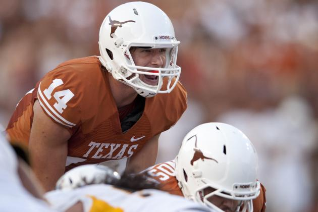Texas Football: Breaking Down David Ash's Week 1 Performance Against Wyoming