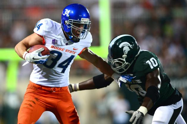 Boise State Football: Bronco Players of the Week vs. Michigan State