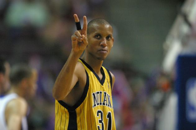 Where Reggie Miller Ranks Among Top Shooting Guards of All Time