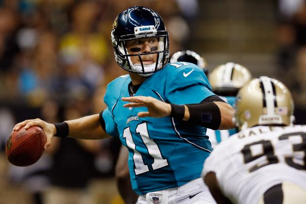 NFL Fantasy Football: Blaine Gabbert and Top 4 Sleepers for Week 1