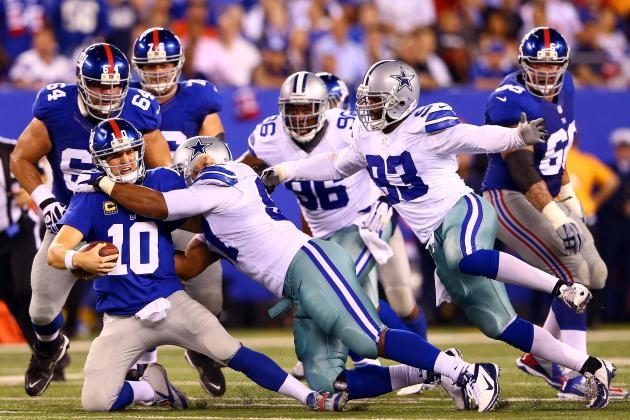 Cowboys vs. Giants: New York's Biggest Winners and Losers from Week 1