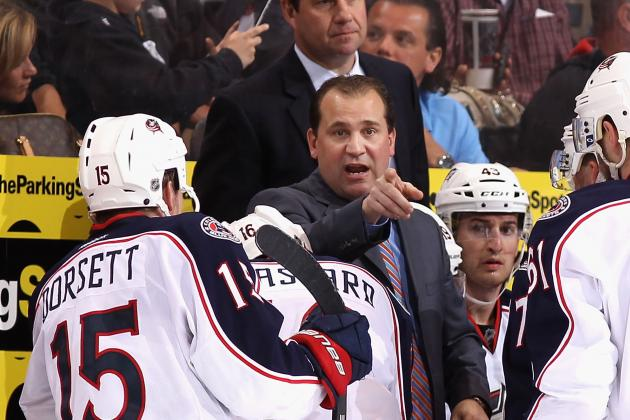 Columbus Blue Jackets: 5 Changes Todd Richards Must Make in First Full Season