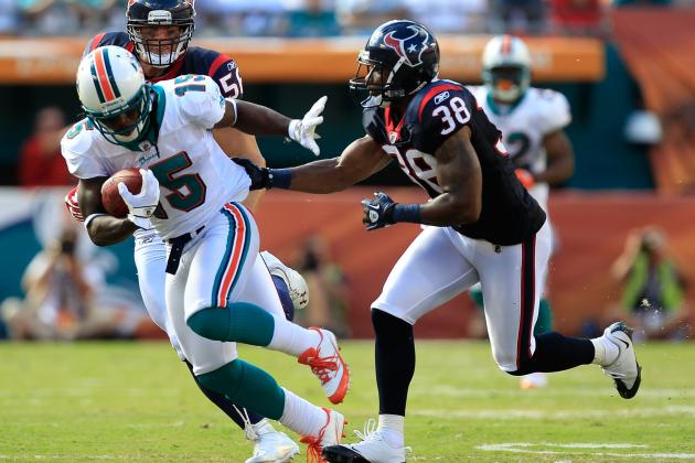 Dolphins vs. Texans: 5 Key Matchups for Sunday's Opener