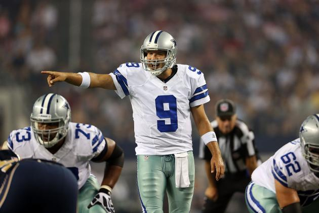 Cowboys vs. Giants: Full Week 1 Report Card for Dallas QB Tony Romo