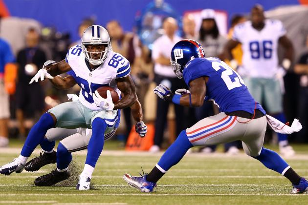 Fantasy Football Stock Value of New York Giants and Dallas Cowboys Players
