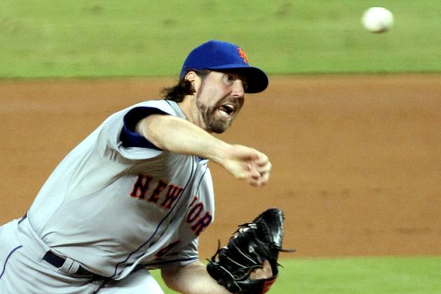 NL Cy Young Award Rankings: R.A. Dickey Knuckles His Way Toward the Top