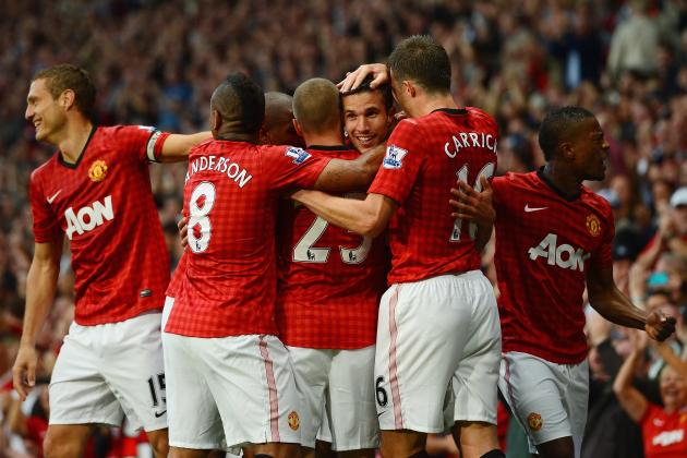 Manchester United: Power Ranking the Top 5 Players Through the EPL Season so Far