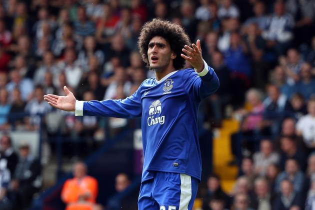 Everton Transfer Speculation: 5 Clubs That Might Come for Fellaini in January