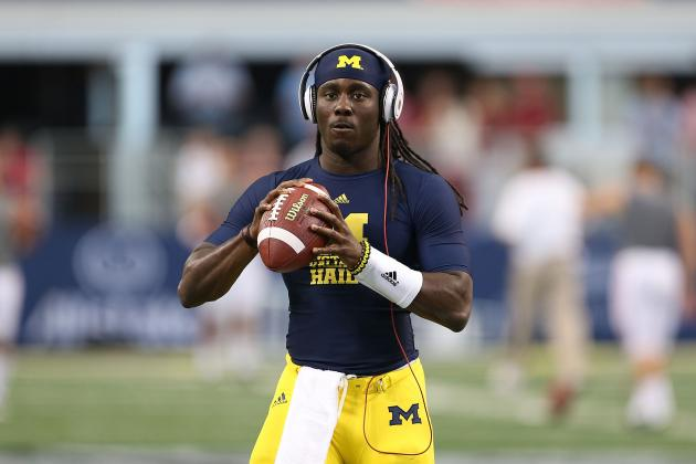 Michigan Football: How Denard Robinson Can Get Himself Back in the Heisman Race