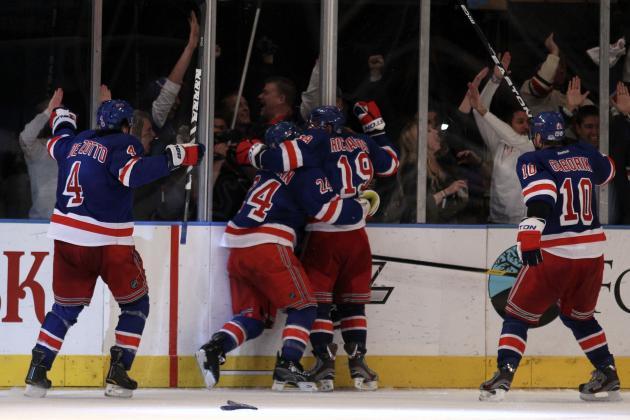 New York Rangers Power Rankings: Best Memories of the 2011-2012 Season