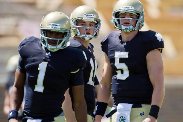 Notre Dame Football: 5 Reasons Tommy Rees Must Start over Everett Golson