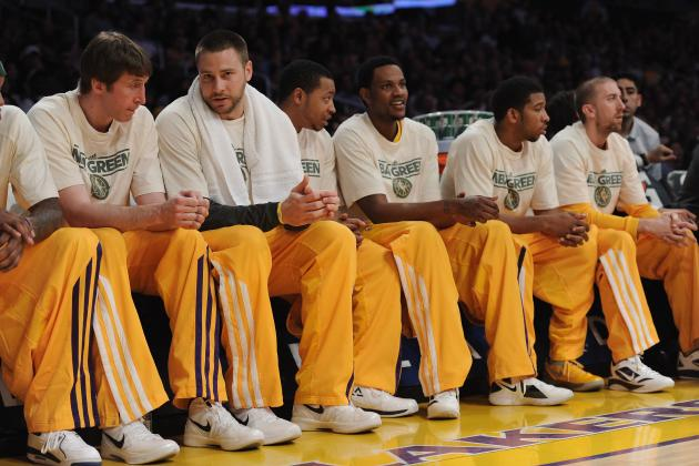 Breaking Down the Roles of the L.A. Lakers Bench