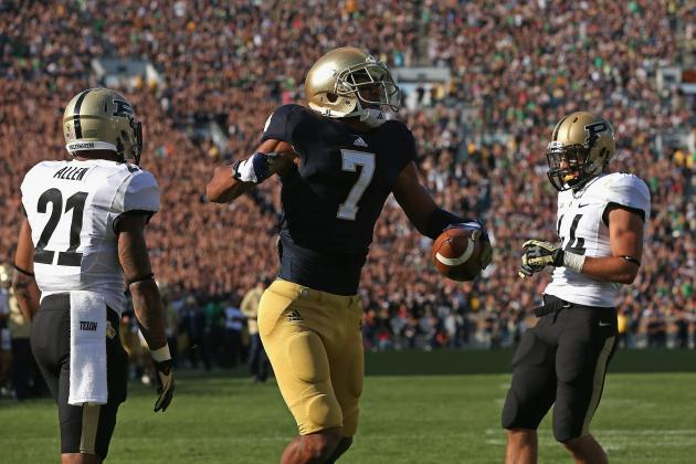 Notre Dame Football: 10 Things We Learned from the Irish's Win Against Purdue